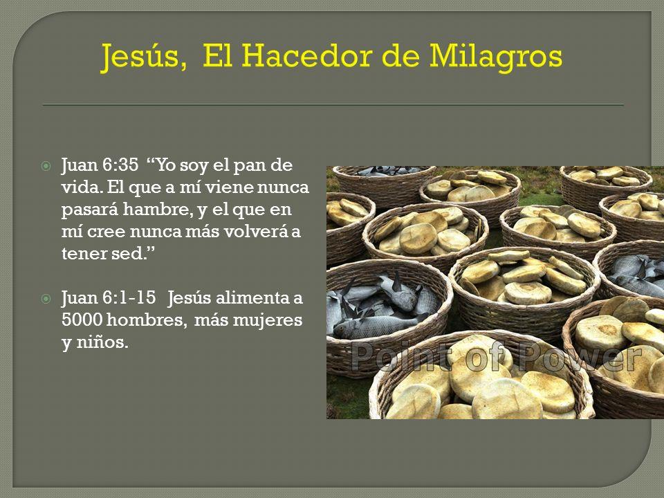 Jesús, El Hacedor de Milagros