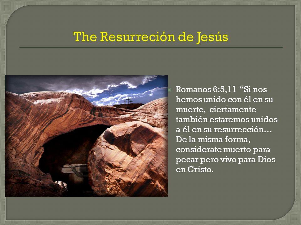 The Resurreción de Jesús