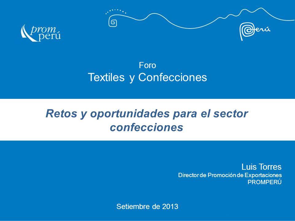 Retos y oportunidades para el sector confecciones