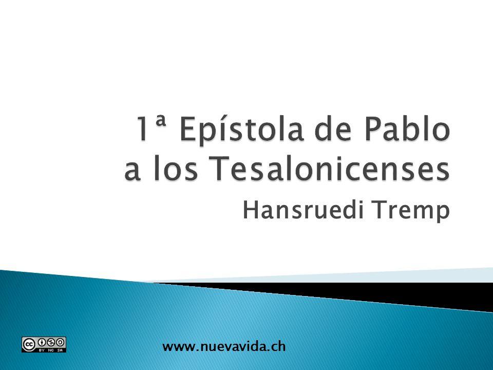 1ª Epístola de Pablo a los Tesalonicenses
