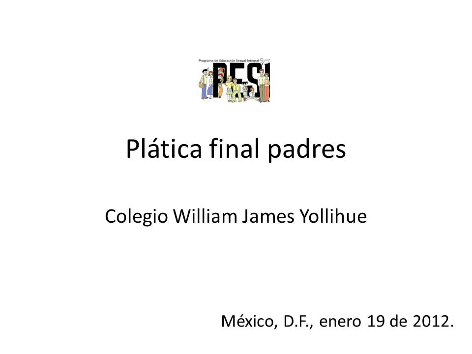 Colegio William James Yollihue