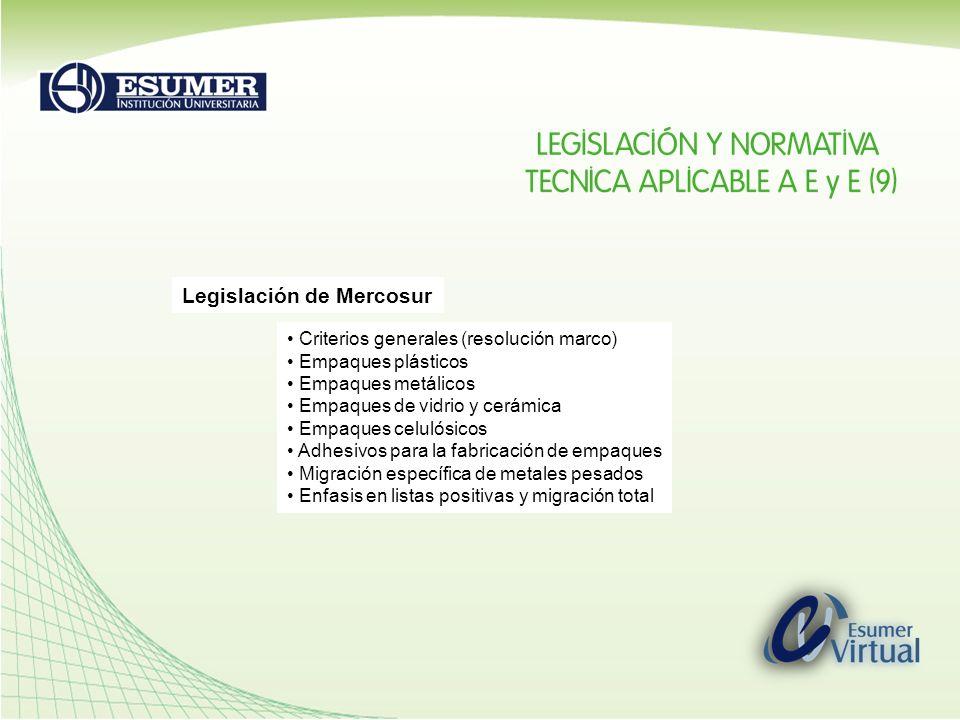 Legislación de Mercosur