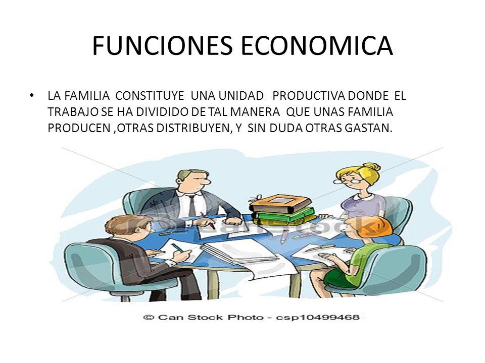 FUNCIONES ECONOMICA