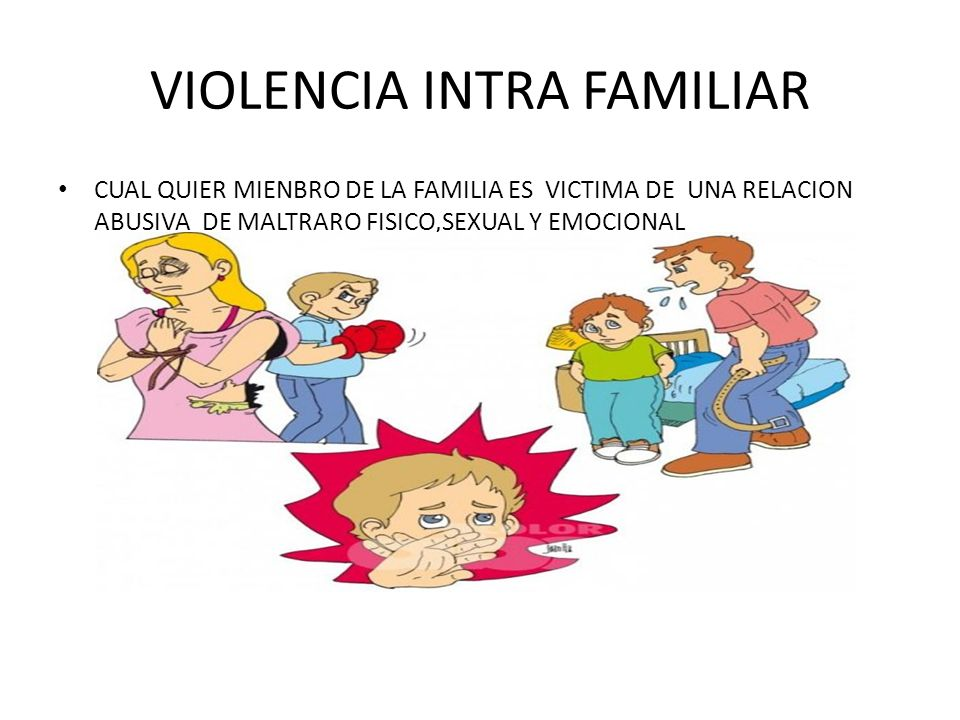 VIOLENCIA INTRA FAMILIAR