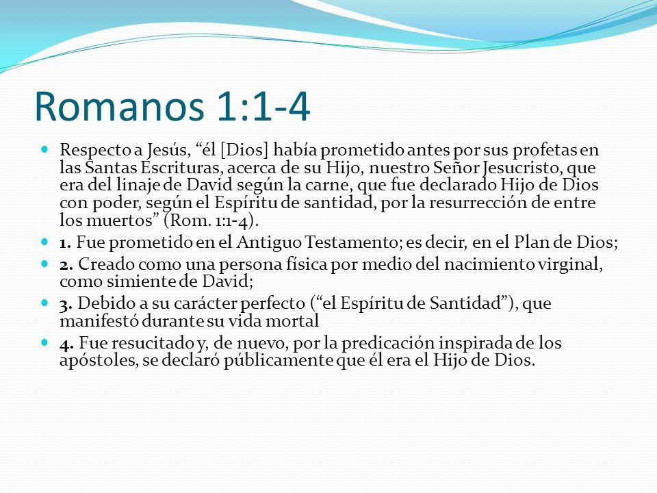 Romanos 1:1-4