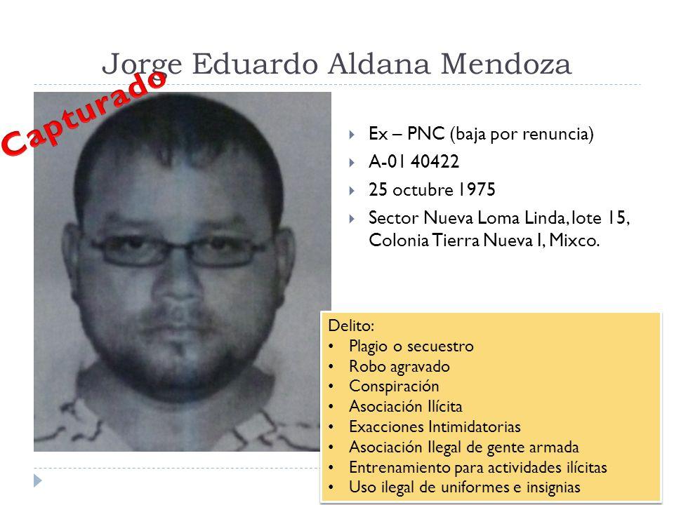 Jorge Eduardo Aldana Mendoza
