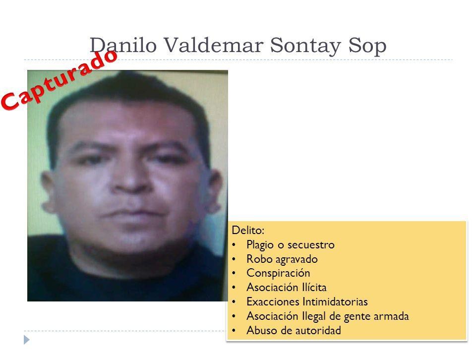Danilo Valdemar Sontay Sop
