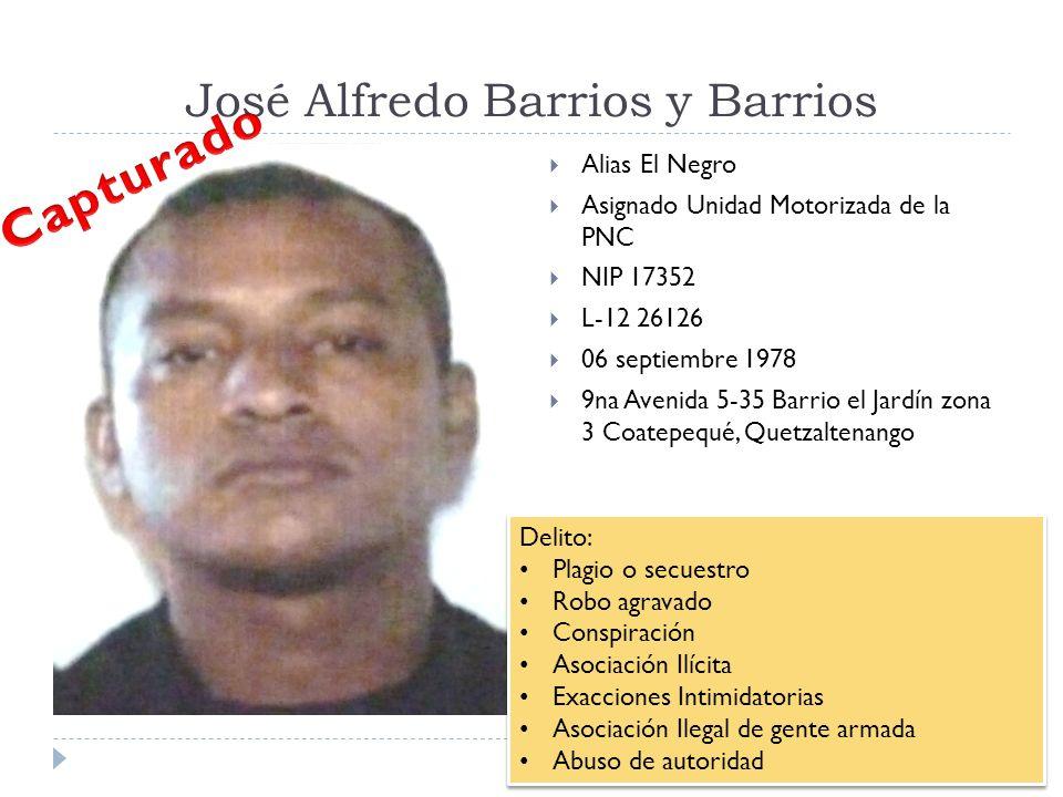 José Alfredo Barrios y Barrios