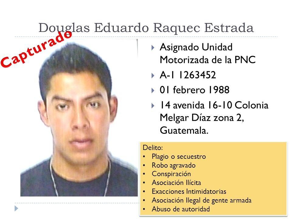 Douglas Eduardo Raquec Estrada