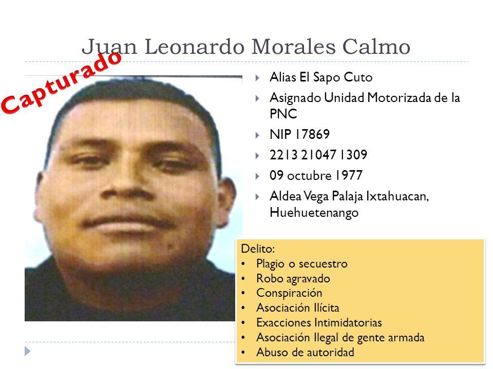 Juan Leonardo Morales Calmo