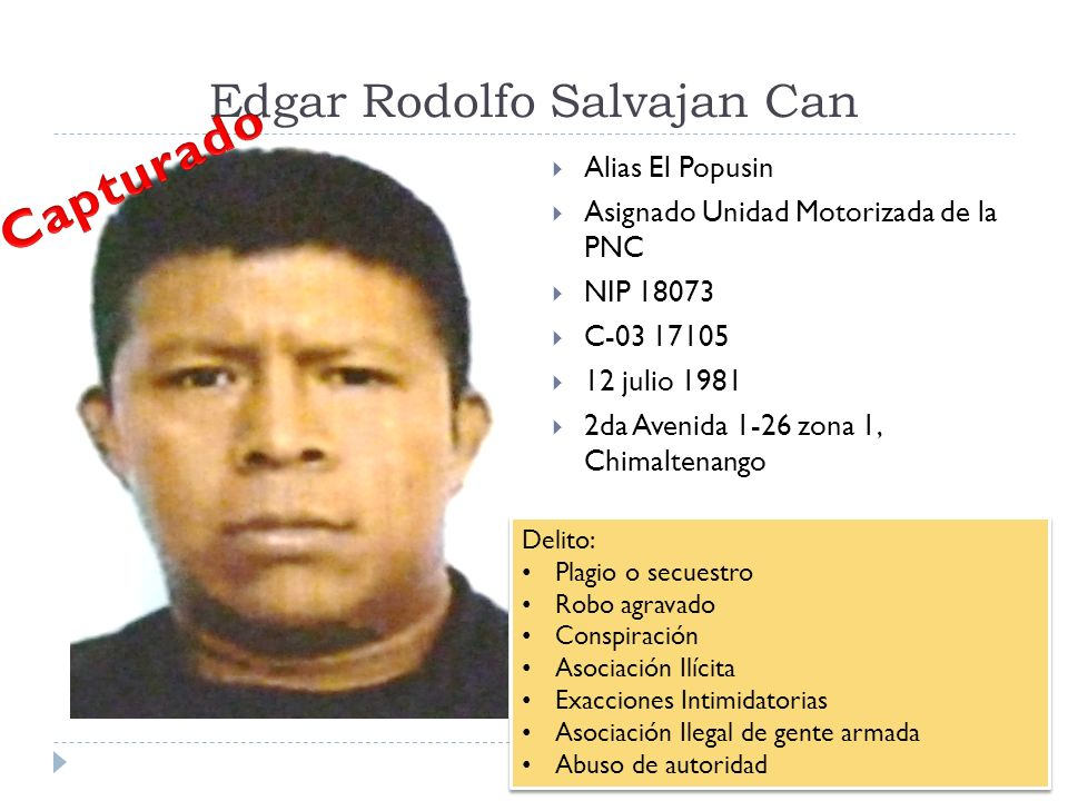 Edgar Rodolfo Salvajan Can