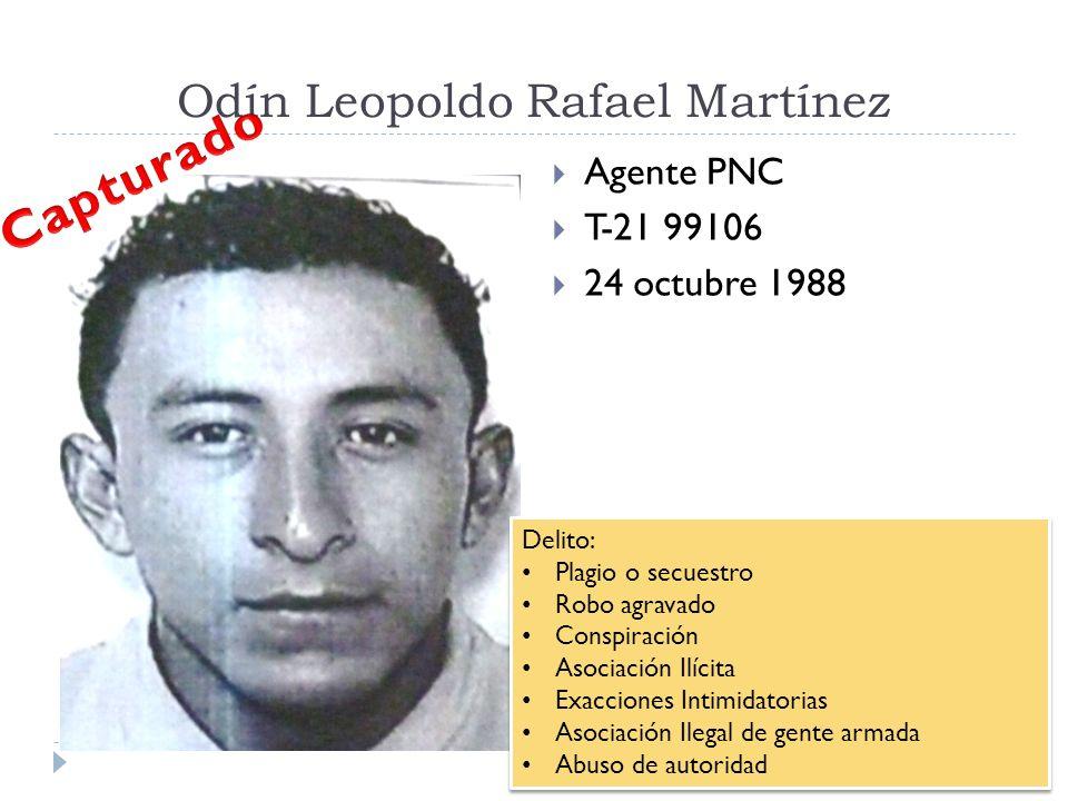 Odín Leopoldo Rafael Martínez