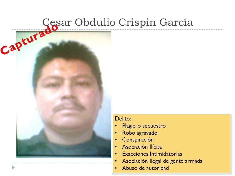 Cesar Obdulio Crispin García