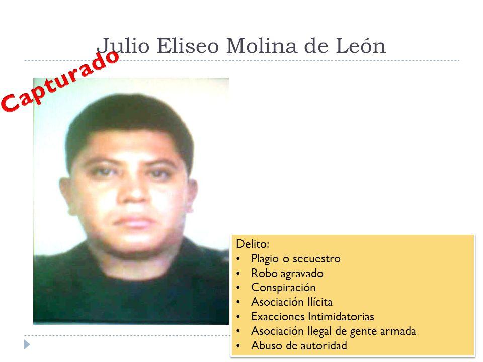 Julio Eliseo Molina de León