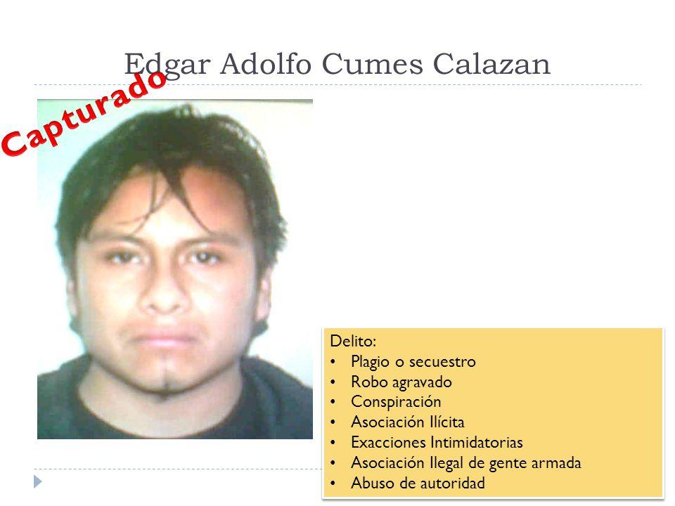 Edgar Adolfo Cumes Calazan