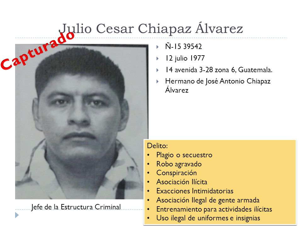 Julio Cesar Chiapaz Álvarez