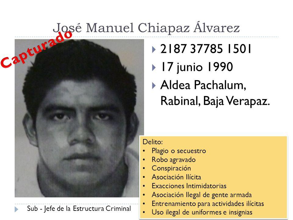 José Manuel Chiapaz Álvarez
