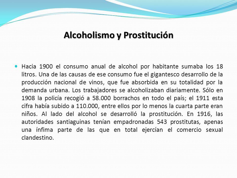 Alcoholismo y Prostitución