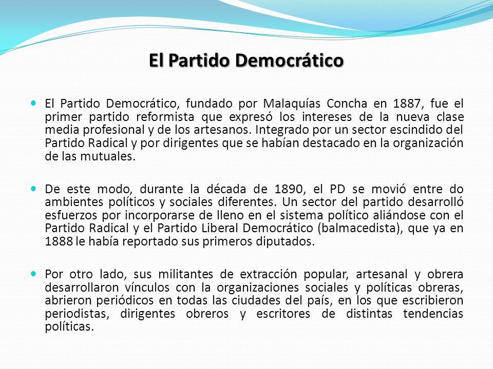 El Partido Democrático