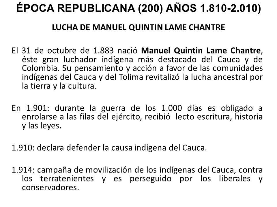 LUCHA DE MANUEL QUINTIN LAME CHANTRE