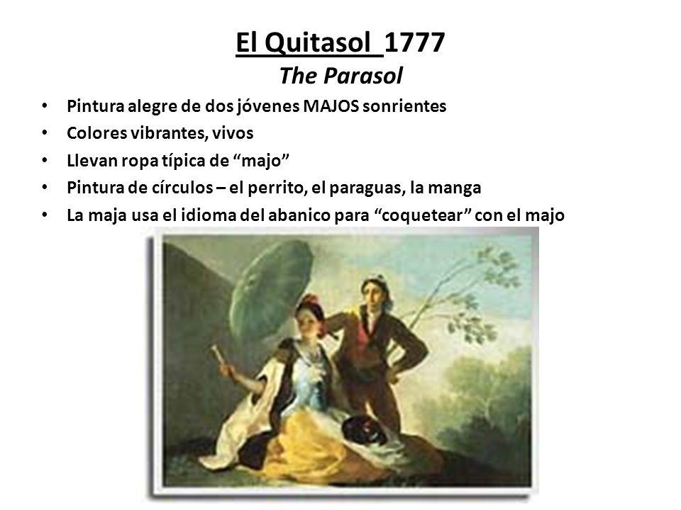 El Quitasol 1777 The Parasol