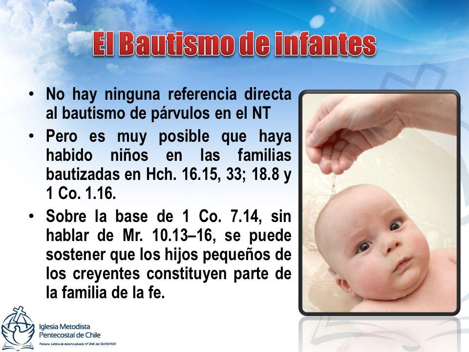 El Bautismo de infantes