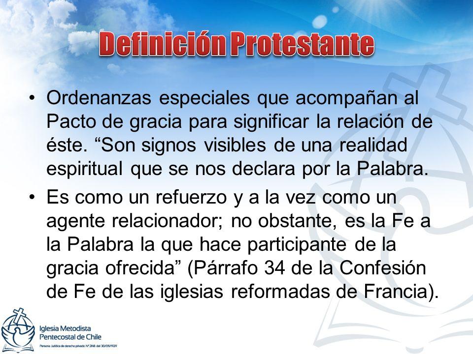 Definición Protestante