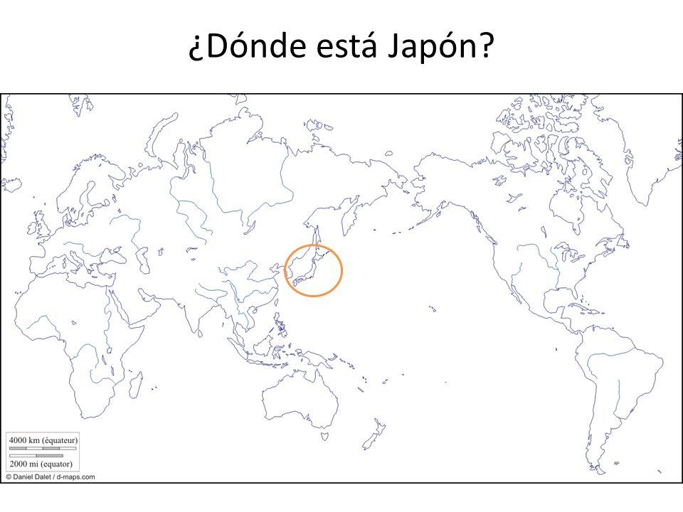 ¿Dónde está Japón