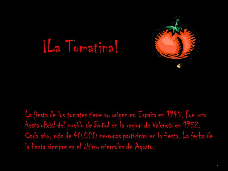 ¡La Tomatina!