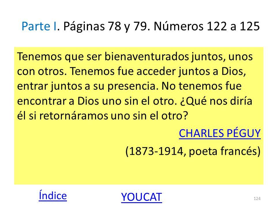 Parte I. Páginas 78 y 79. Números 122 a 125
