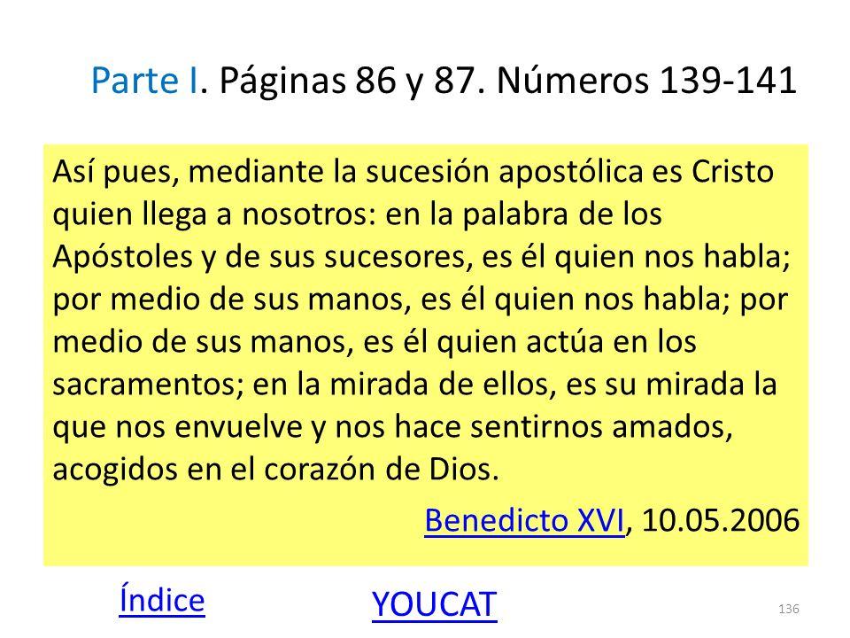 Parte I. Páginas 86 y 87. Números 139-141