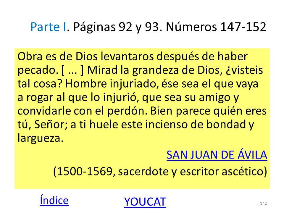 Parte I. Páginas 92 y 93. Números 147-152