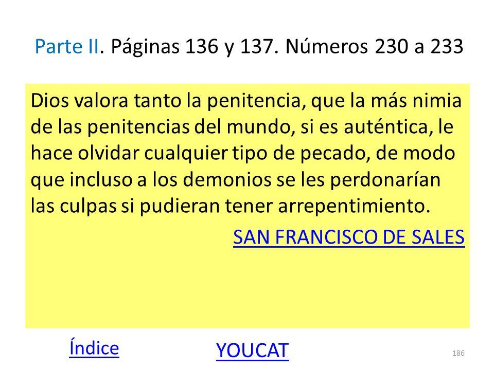 Parte II. Páginas 136 y 137. Números 230 a 233