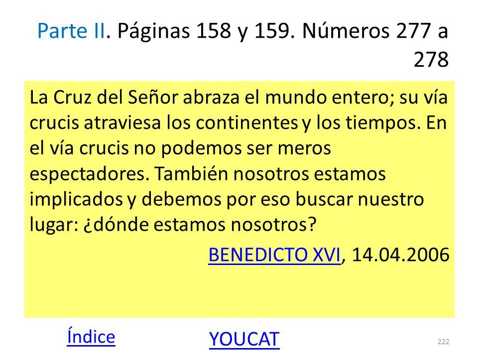 Parte II. Páginas 158 y 159. Números 277 a 278