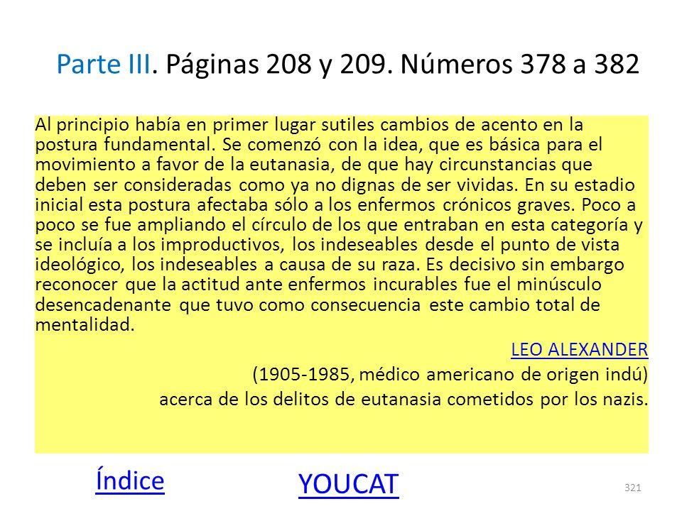 Parte III. Páginas 208 y 209. Números 378 a 382