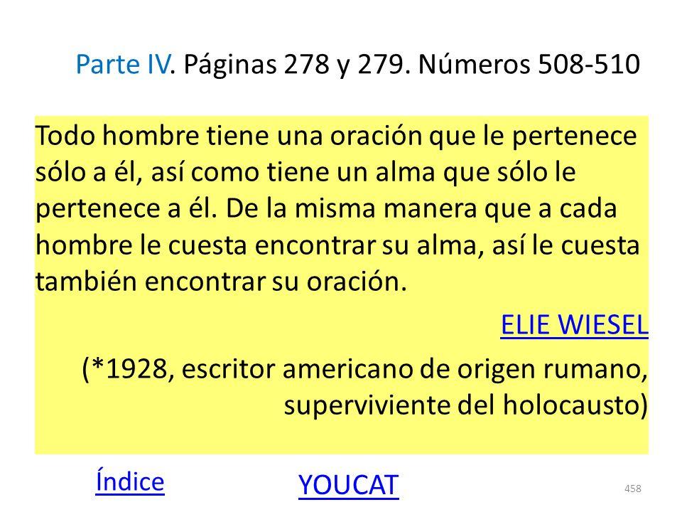Parte IV. Páginas 278 y 279. Números 508-510