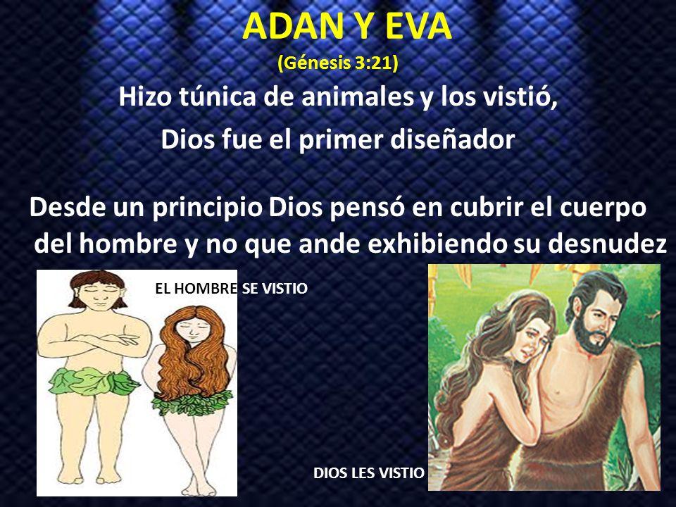 ADAN Y EVA (Génesis 3:21)