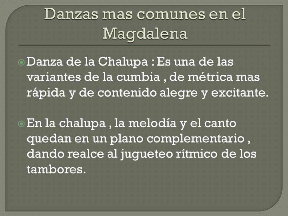 Danzas mas comunes en el Magdalena