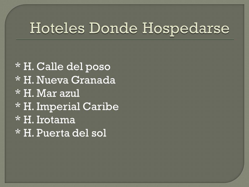 Hoteles Donde Hospedarse