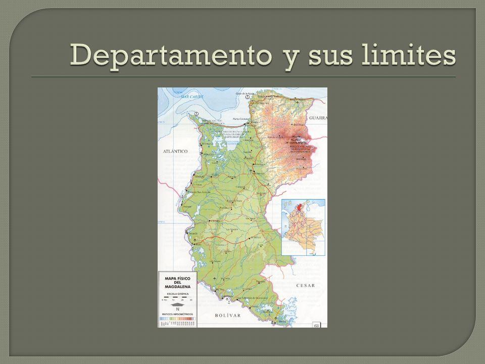 Departamento y sus limites