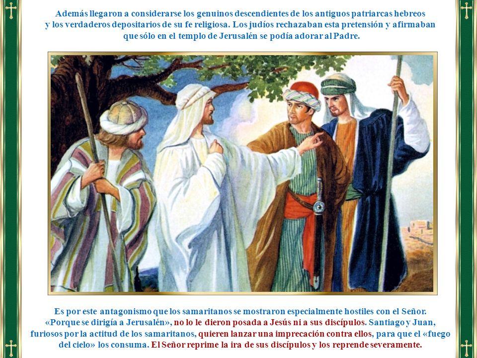 que sólo en el templo de Jerusalén se podía adorar al Padre.