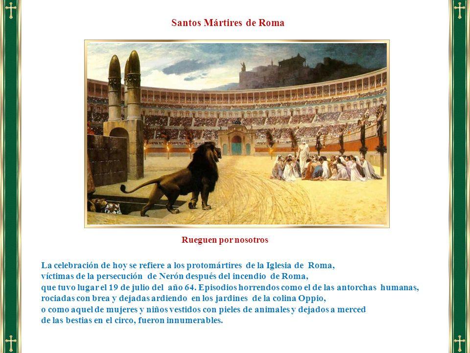 Santos Mártires de Roma