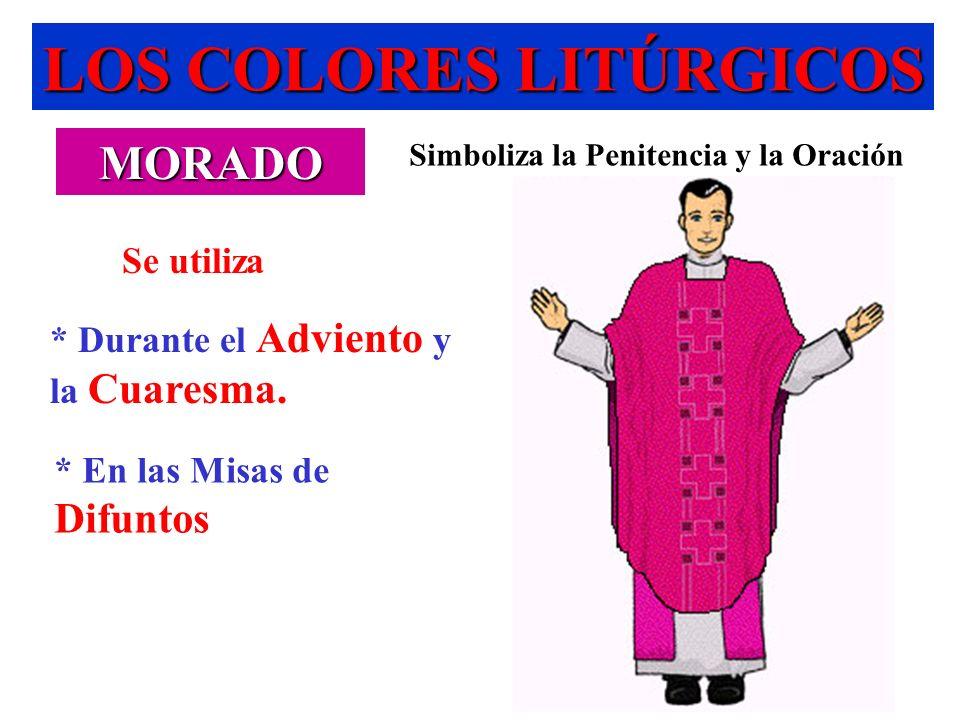 LOS COLORES LITÚRGICOS