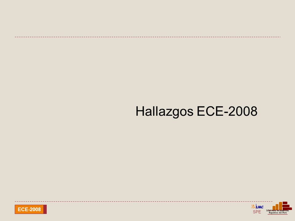 Hallazgos ECE-2008