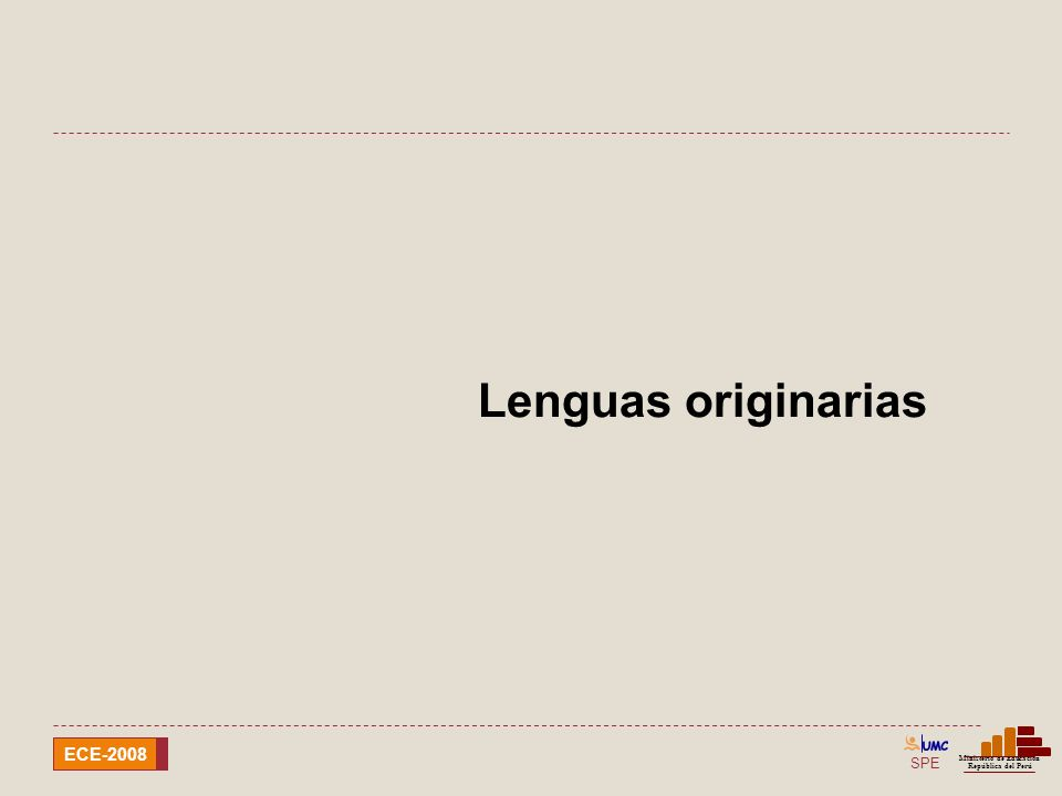 Lenguas originarias