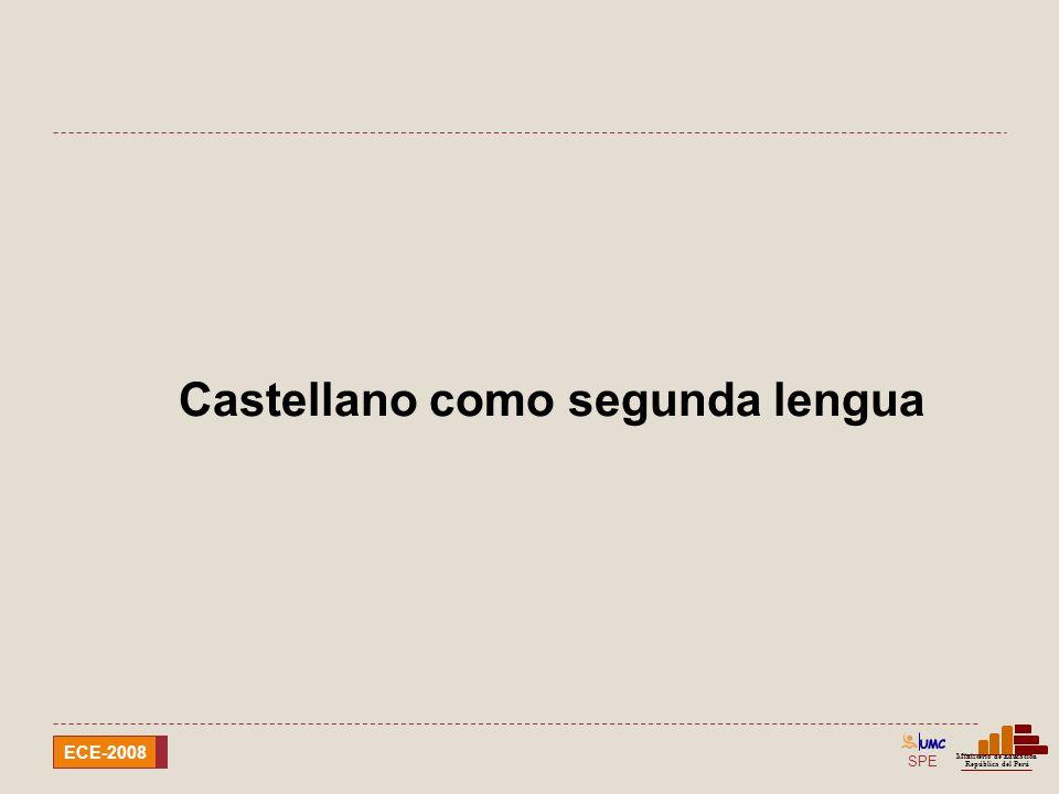 Castellano como segunda lengua