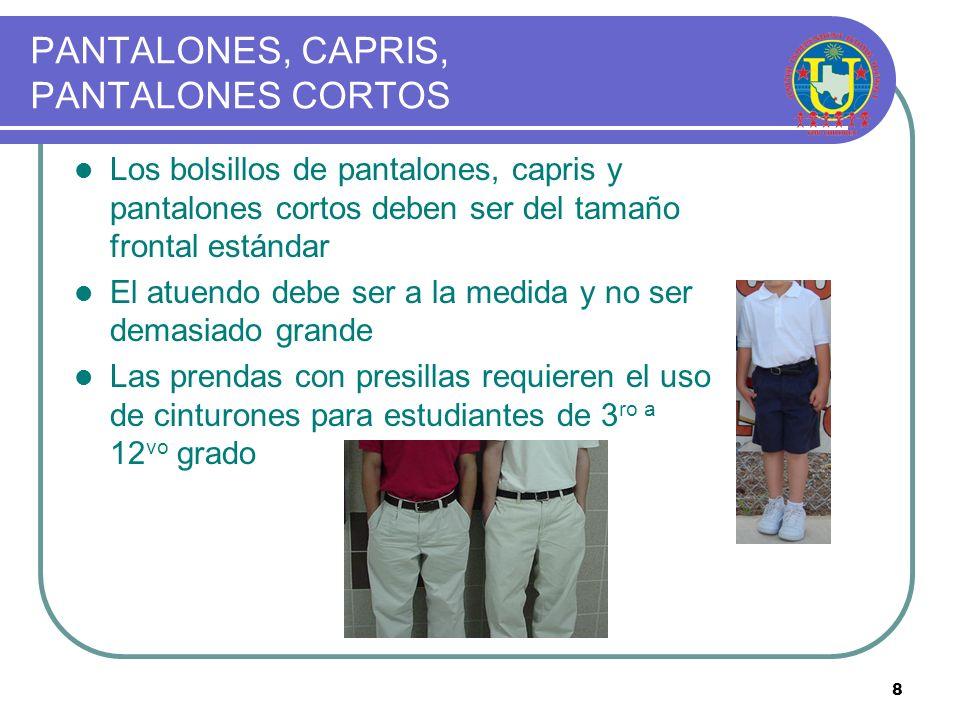 PANTALONES, CAPRIS, PANTALONES CORTOS