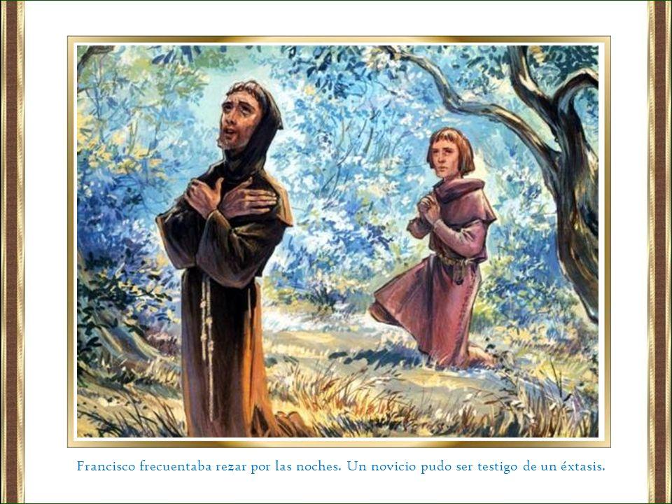 Francisco frecuentaba rezar por las noches
