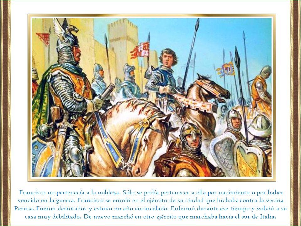 Francisco no pertenecía a la nobleza