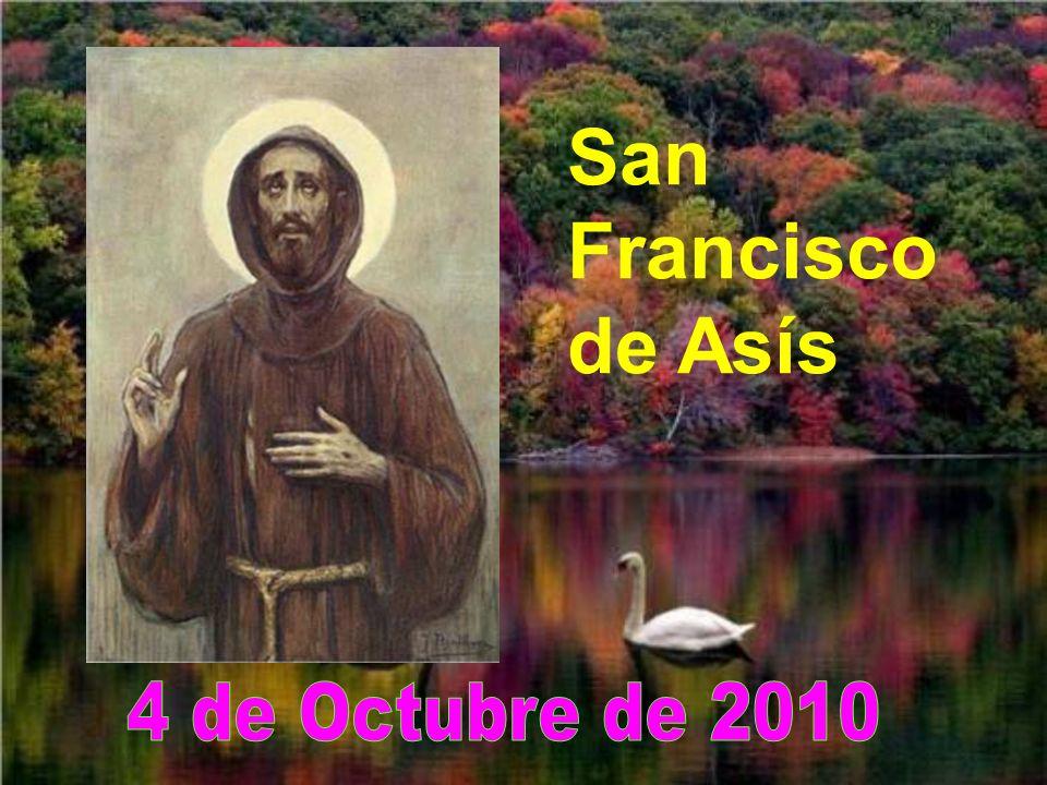 San Francisco de Asís 4 de Octubre de 2010